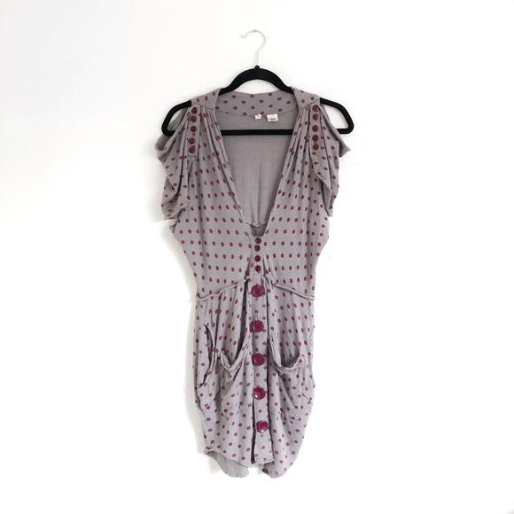 Anthropologie Sweaters - Anthro Moth Infinite Details Cardigan Grey Size M